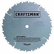 Craftsman 10 in. Saw Blade, Fine Finish Miter - 80T at Craftsman.com