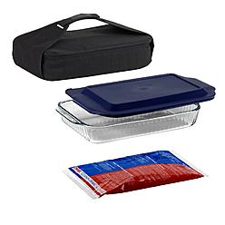 Pyrex 4-Piece Portable Food Carrier Set at Kmart.com