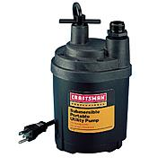 Craftsman Professional 1/4 hp Submersible Utility Pump at Craftsman.com
