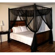 Casablanca Black Palace Four Poster Bed Canopy at Kmart.com