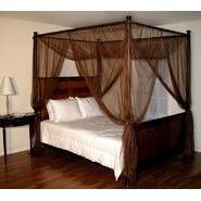Casablanca Chocolate Palace Four Poster Bed Canopy at Kmart.com