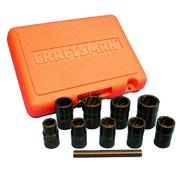 Craftsman 10 pc. Impact Grade Bolt-Out™ Damaged Bolt/Nut Remover at Craftsman.com