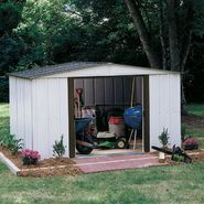 Arrow Buildings SR68109 Gable Steel Lawn Building (10 ft. x 9 ft.) at Sears.com