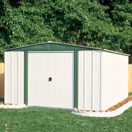 Arrow Buildings SR68206 Gable Steel Lawn Building (10 ft. x 6 ft.) at Kmart.com