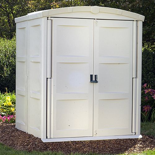 Storage Shed Large (5 ft. 5 in. D x 5 ft. 6 in. W x 6 ft. 11 in. H)                                                              at mygofer.com