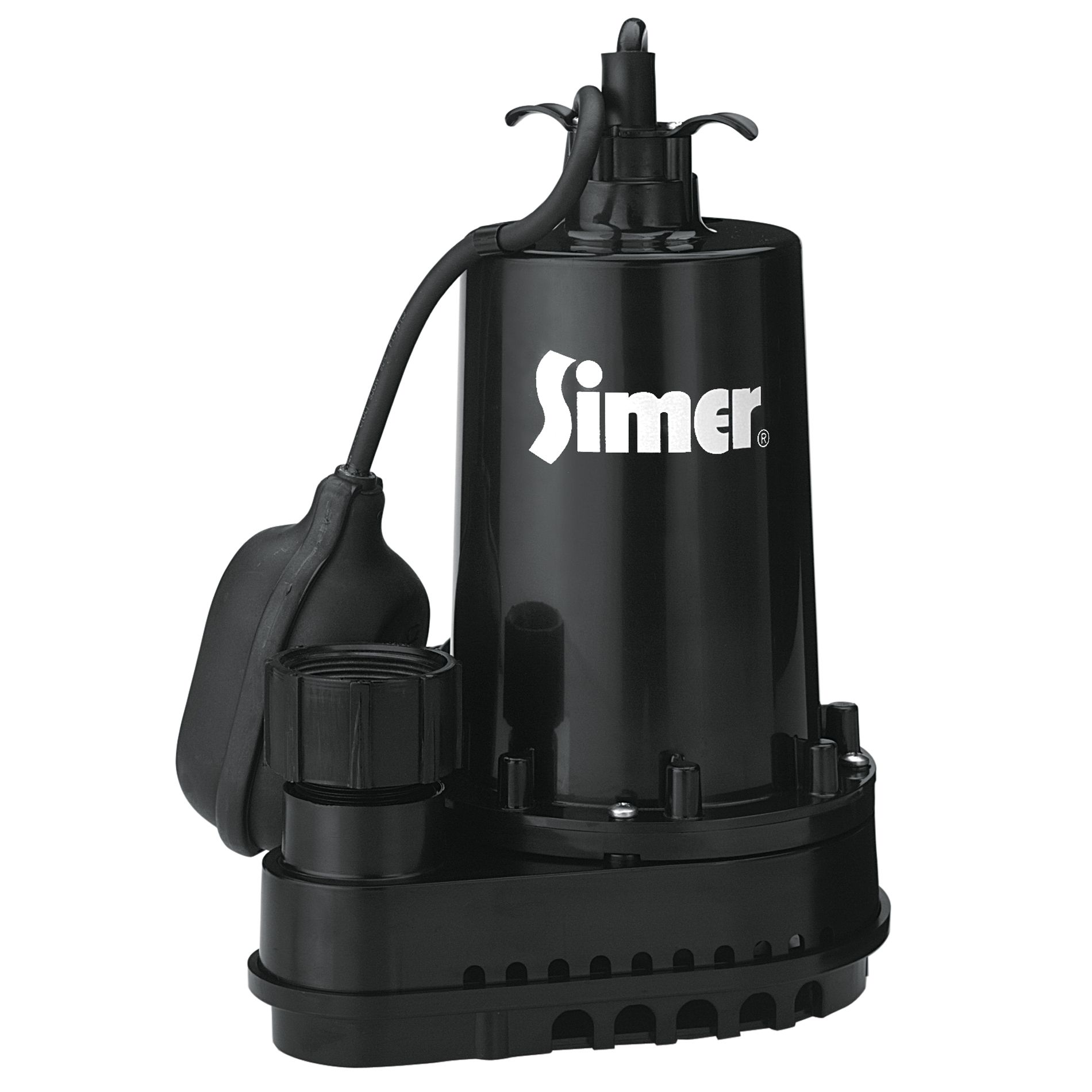 Simer 1/2 hp Thermoplastic Submersible Sump Pump