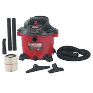 Craftsman 16 gal. Wet-Dry Vac, 6.0 Peak hp at Craftsman.com