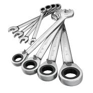 GearWrench 8 pc. Standard Full Polish Reversible Ratcheting Combination Wrench Set at Craftsman.com