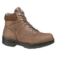 "Wolverine Men's Work Boots DuraShocks Leather Steel Toe 6"" Brown W02053 at Sears.com"