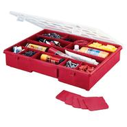 "Stack_On 14-1/2"" 17 Compartment Storage Box - Red at Sears.com"