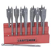 Craftsman 13 pc. Spade Bit Set with Metal Storage Rack at Craftsman.com