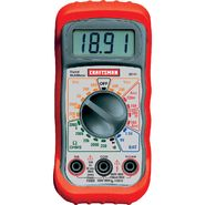 Craftsman Multimeter, Digital, with 8 Functions and 20 Ranges at Sears.com