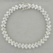 8-1/2 ct. tw.* Cubic Zirconia Tennis Bracelet at Kmart.com
