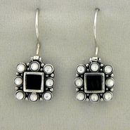 Onyx and Mother-of-Pearl Earrings at Kmart.com