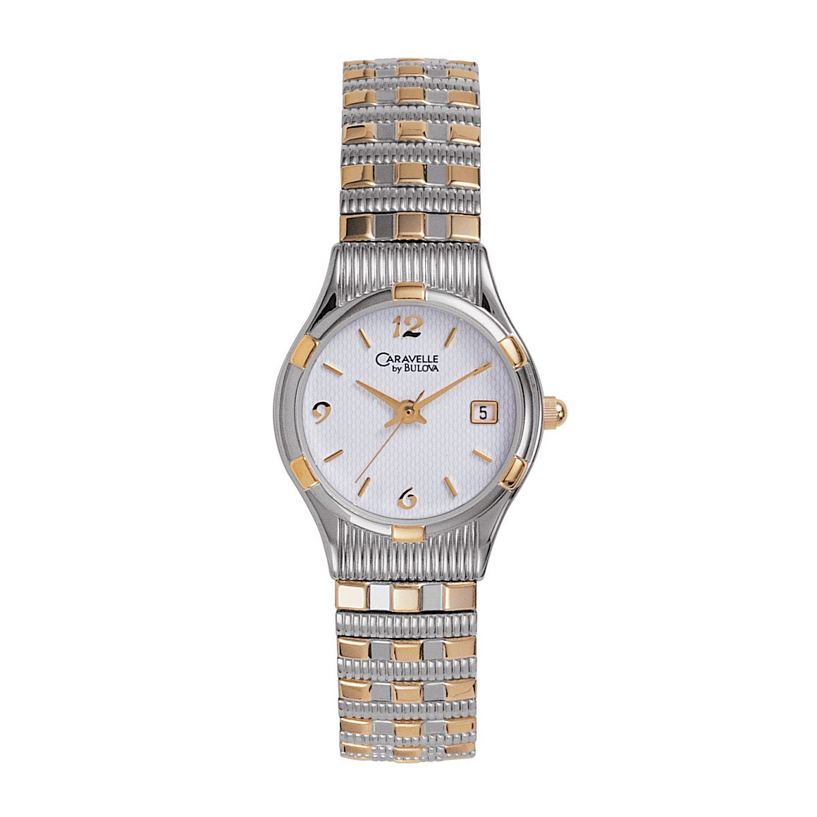 Ladies Two-Tone Expansion Watch