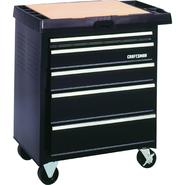 Craftsman 5-Drawer Powered Basic Project Center - Black at Sears.com
