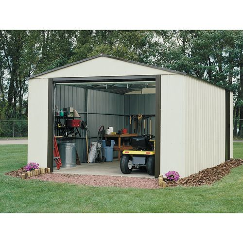VT1224 Murryhill Vinyl Storage Building (12 ft. x 24 ft.)                                                                        at mygofer.com