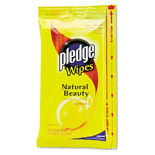 JohnsonDiversey  Lemon Scent Wet Wipes,