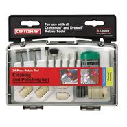 Craftsman 24 pc. Cleaning and Polishing Set at Craftsman.com