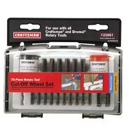 Craftsman 75 pc. Cut-Off Wheel Set at Craftsman.com
