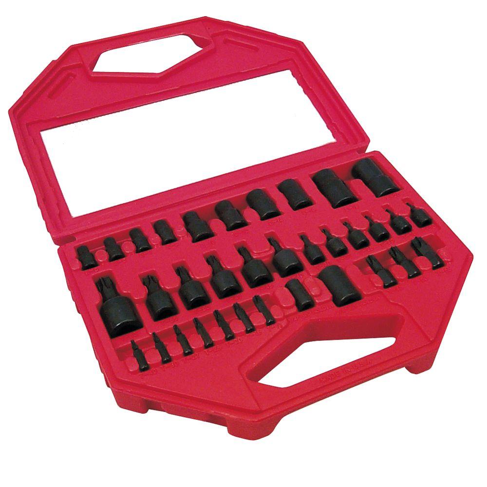 lisle 34 pc master torx set tools ratchets sockets sockets socket sets. Black Bedroom Furniture Sets. Home Design Ideas