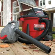 Craftsman 16-gal 6.5-peak hp Wet/Dry Vac with Detachable 265 mph Blower at Craftsman.com