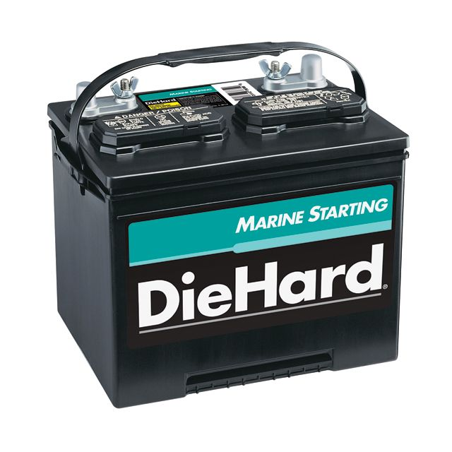 DieHard  Marine Starting Battery - Group Size 24MS (Price With Exchange)