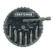 Craftsman 7 pc. Spin a Bit Set at Craftsman.com