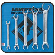 Armstrong 5 pc. Full Polish Double Head Flare Nut Wrench Set Inch at Sears.com