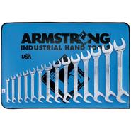 Armstrong 14 pc. Full Polish 15 and 60 degree angle Wrench Set Inch at Sears.com