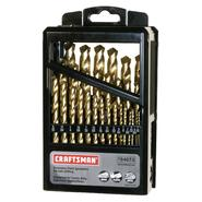 Craftsman 29 pc. Titanium Coated Drill Bit Set at Craftsman.com