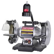 "Craftsman Professional Variable Speed 8"" Bench Grinder (21162) at Craftsman.com"