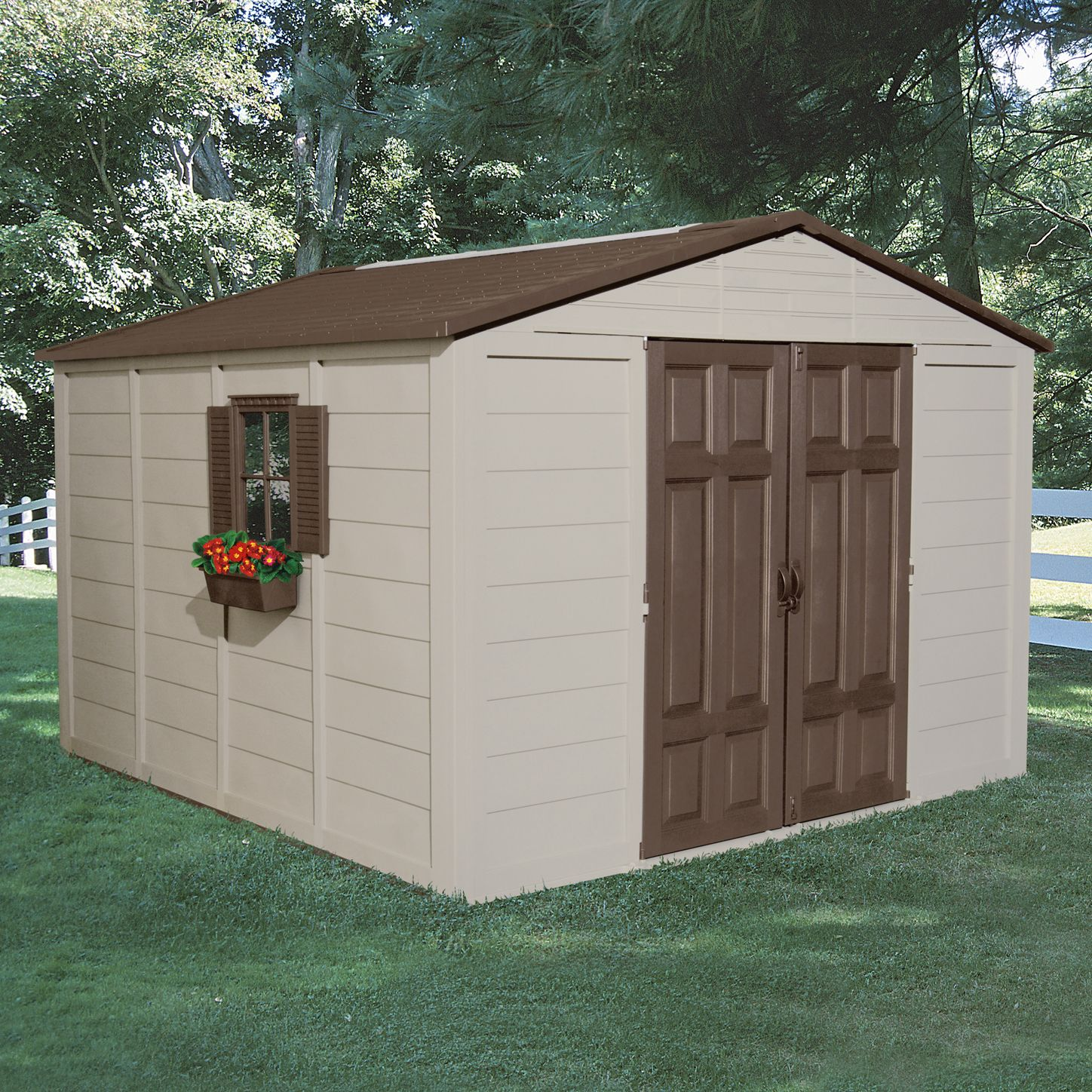 Suncast  Storage Building (10 ft. x 10 ft.)