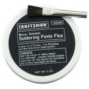 Craftsman Water Soluble Paste Flux w/brush 2 oz. jar at Craftsman.com