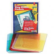 Cardinal Ring Binder with Pockets, Assorted Colors, Five/Pk at Kmart.com