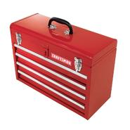 "Craftsman 20-1/2"" 4-Drawer Portable Tool Chest - Red at Kmart.com"