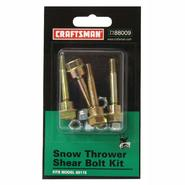 Craftsman Snowblower Shear Bolt Kit at Craftsman.com