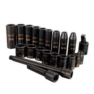 Craftsman 21 pc. Easy Read Impact Socket Set, 6 pt. Std. and Deep, 3/8 in. Dr. at Craftsman.com