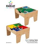 Kidkraft 2 in 1 Activity Table-Lego Compatible at Sears.com