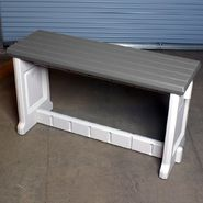 "Leisure Accents 36"" Patio Bench - Gray at Sears.com"