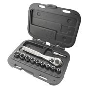 Craftsman 11 pc. 6 pt. Standard 1/4 in.Socket Wrench Set at Craftsman.com