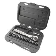 Craftsman 11 pc. 6 pt. Metric Socket 1/4 in. Wrench Set at Sears.com