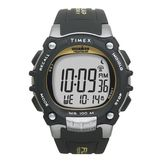 Timex Mens 100 Lap Watch Ironman Watch with Black Resin Band at mygofer.com
