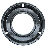 Range Kleen Porcelain Round Gas Range Drip Pan, Black at Sears.com