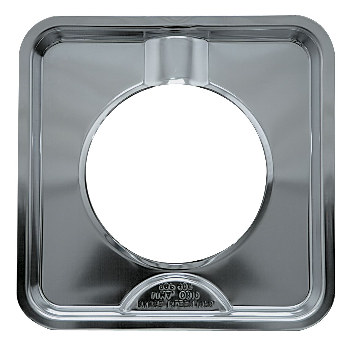 Range Kleen Square Gas Range Drip Pan, Chrome