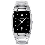 Bulova Mens Traditional Watch with Silvertone Finish and Link Band at Sears.com