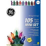 GE String-A-Long™ 105 Mini Lights Set, Multi at Kmart.com