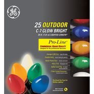 GE Pro-Line® Commercial Grade Quality 25 ct. C-7 Glow Bright Lights, Multi at Kmart.com