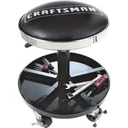 Craftsman Adjustable Rolling Mechanics Seat with Onboard Tool Tray at Craftsman.com