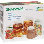 Snapware 10 pc. Airtight Canister Set at Sears.com